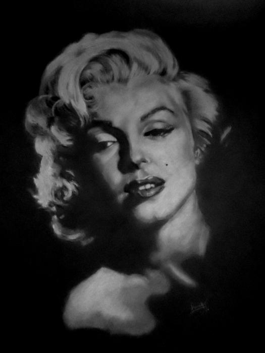 Marilyn Monroe par luca